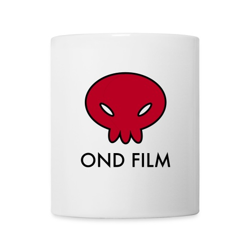 ondfilm1 red text - Mug