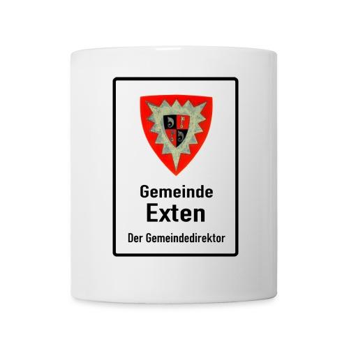 Gemeinde Exten Schild png - Tasse