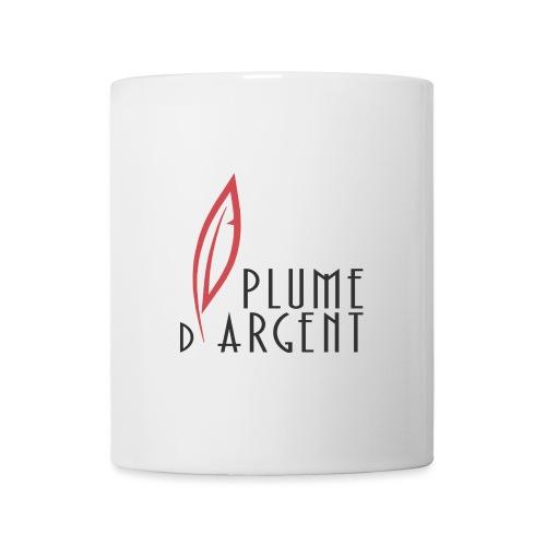 Logo - Texte plume - Mug blanc