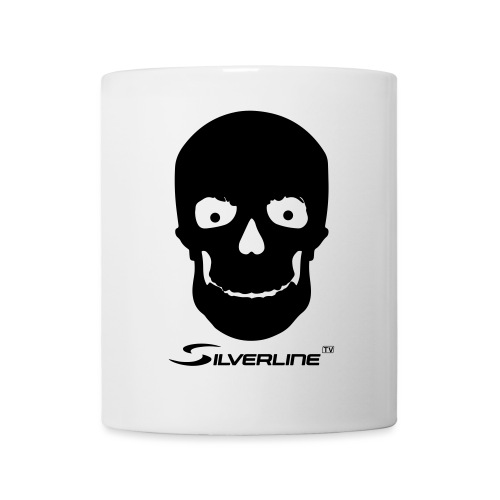 Silverline Skull - Tasse