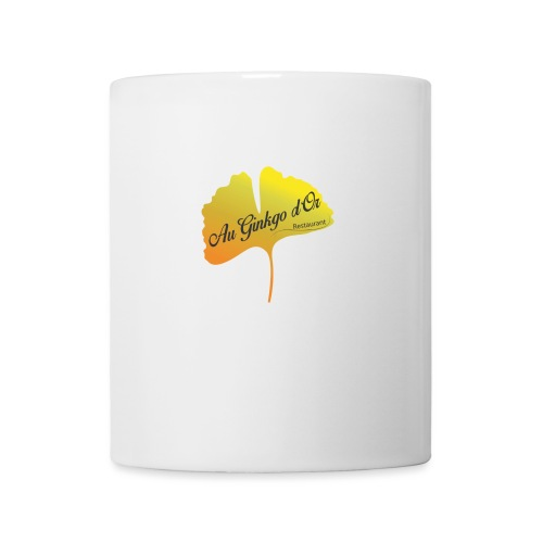 Au Ginkgo d Or - Mug blanc