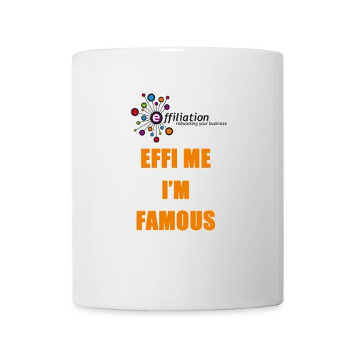 effiliation orange jpg - Mug blanc