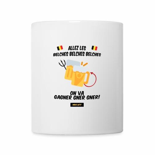 allez belge Par MDR.WTF - Mug blanc