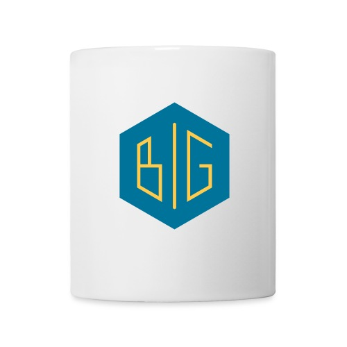 BiG logo grand svg - Mug blanc