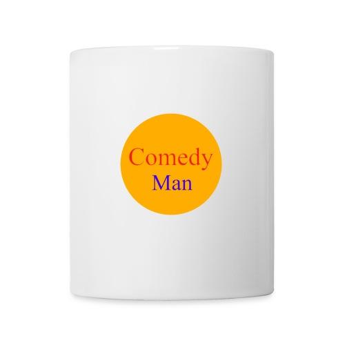 comedy man logo - Mok