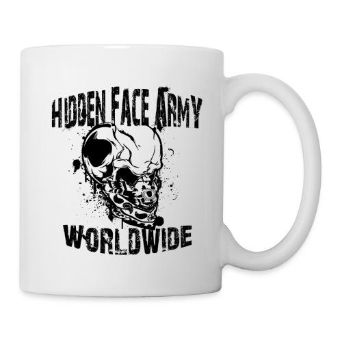 Hidden Face Army Worldwide TMR Grafix SCHWARZZZZ - Tasse