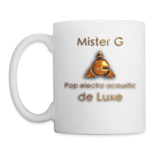 Mister G - Mug blanc