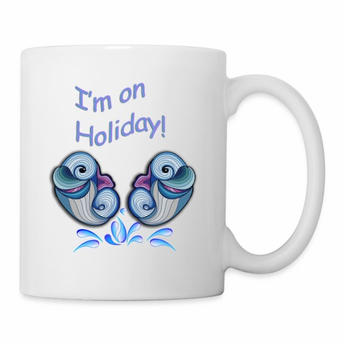 I'm on holliday - Mug