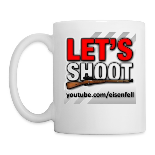 Let's Shoot Logo - Tasse
