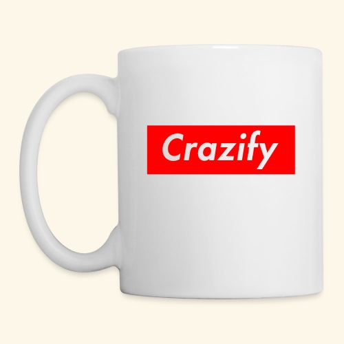 Crazify Red & White - Mug