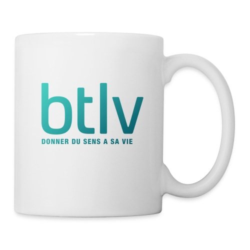 Nouveau logo Btlv Valide - Mug blanc