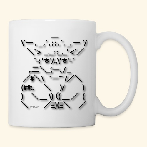 ASCII Art Yoda - Text art - Mug