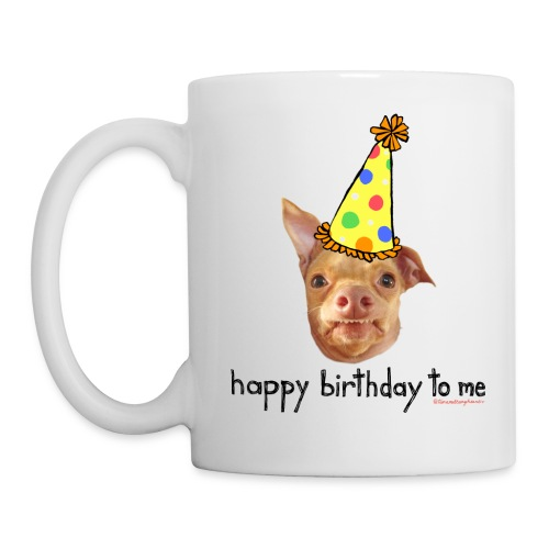 tuna birthday hat happy birthday to me - Mug