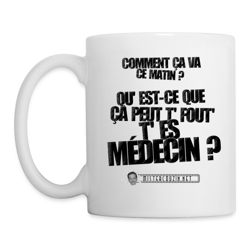 mugmedecin - Mug blanc