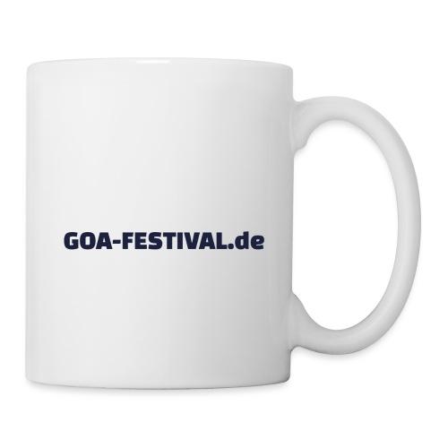 Goa Festival Produkte - Tasse
