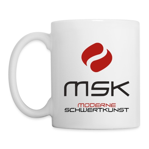 MSK Logo m. Schrift - Tasse