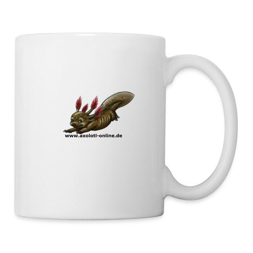 Axolotlshirt Männlein 1.png - Tasse
