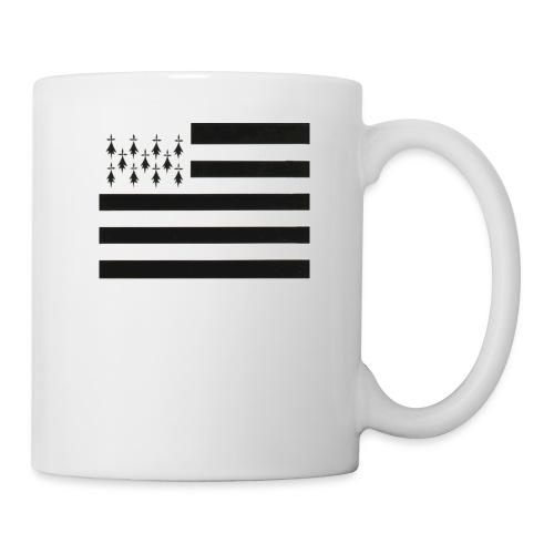 fond ecran drapeau breton jpg - Mug blanc