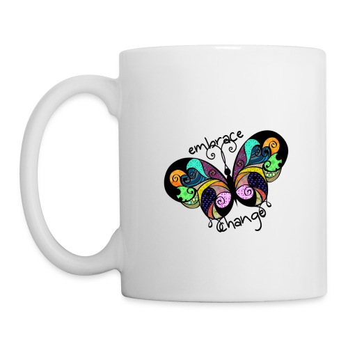 Embrace Change Butterfly - Mug