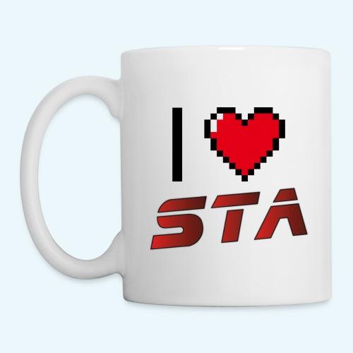 I love STA - Mug blanc