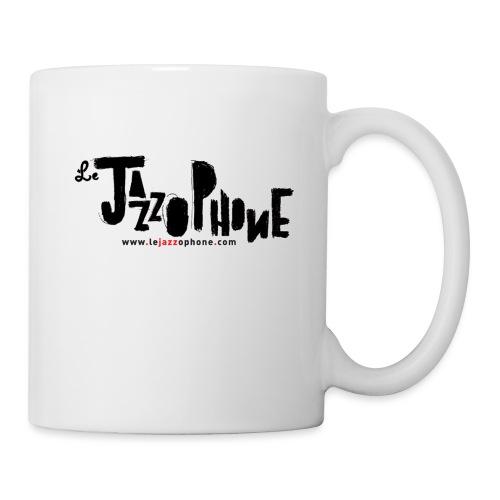 LOGO JAZZOPHONE 1000 jpg - Mug blanc