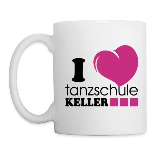 I love Tanzschule Keller - Tasse