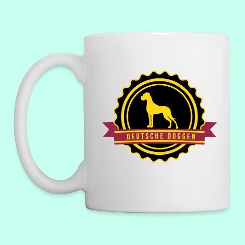 Label Doggen rundstempel - Tasse