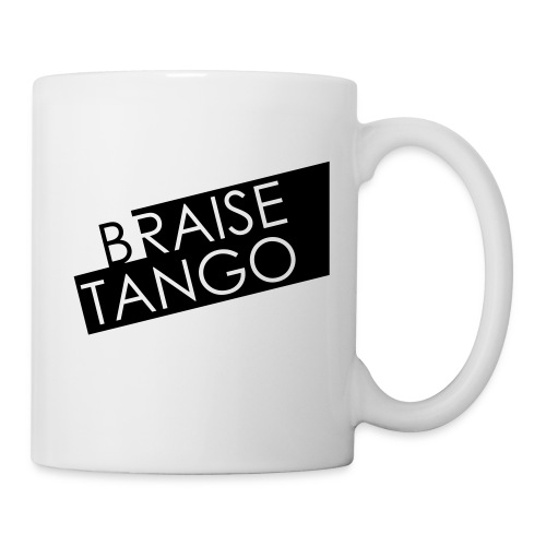 Logo Braise Tango - Mug blanc