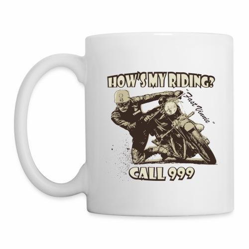 hows my riding - Mug