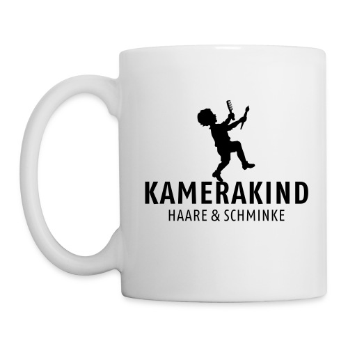 kamerakind Haare Schminke - Tasse