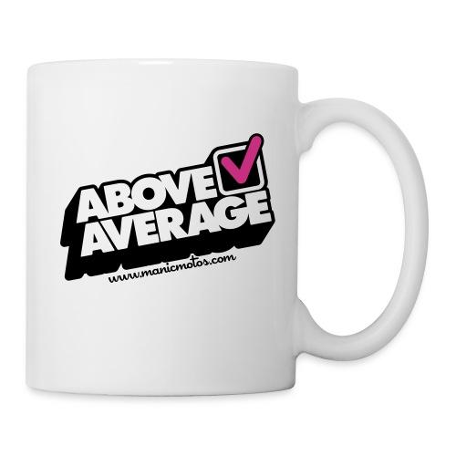 Above Average URL 2 color - Mug