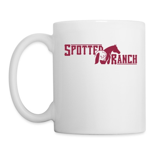 Spotted ranch - Mug blanc