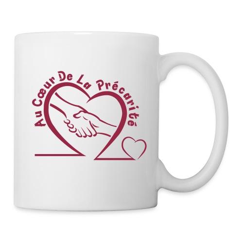 logo acdlp vetement bordeaux petit - Mug blanc