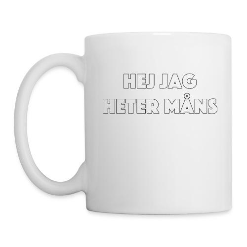 HEJ JAG HETER MÅNS - Mugg