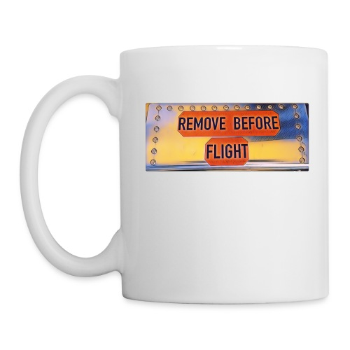 Remove before flight 3 - Tasse