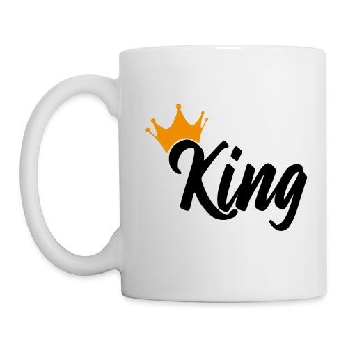 King - Mug blanc