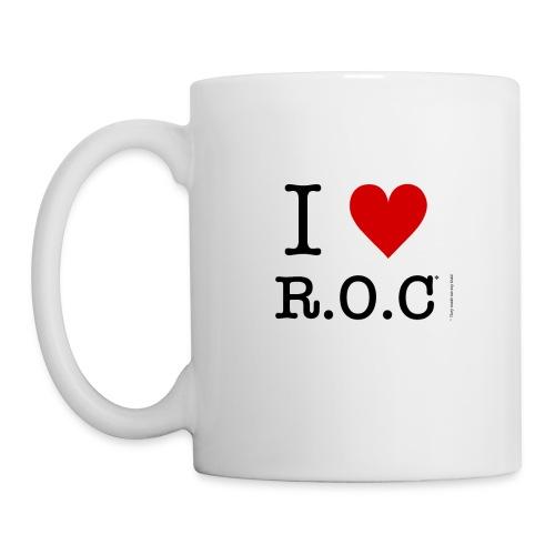 i lov roc tshirt png - Mug