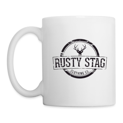 Rusty Stag Weathered Crest - Mug