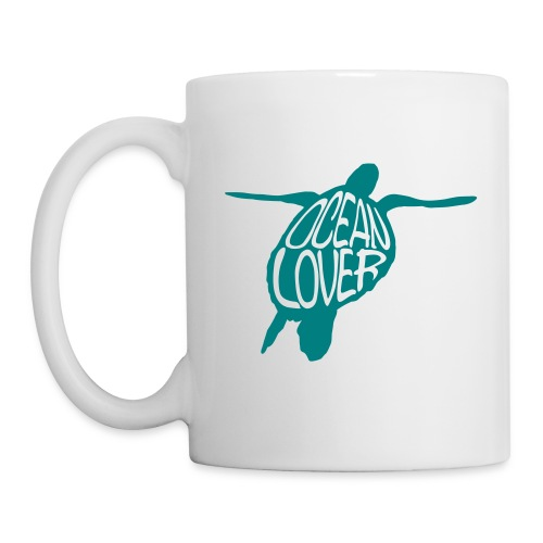 The Sea Turtle - La Tortue Marine - Mug blanc