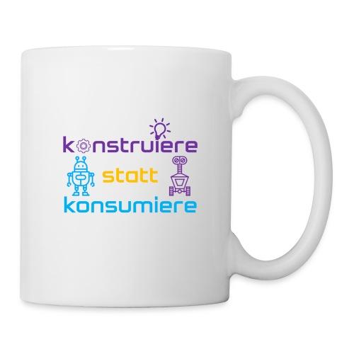 konstruiere statt konsum - Tasse