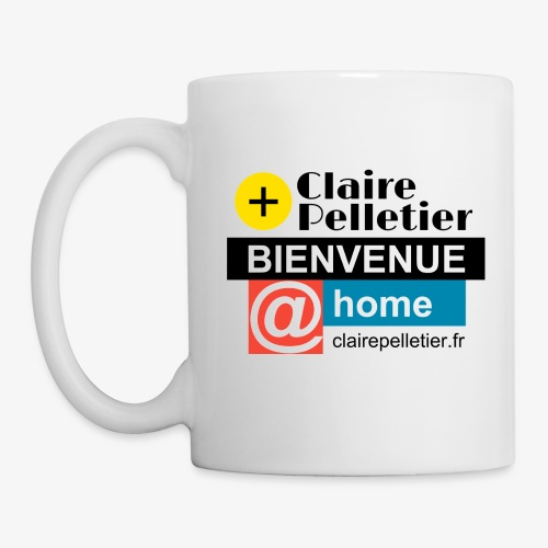 BIENVENUE @home - Mug blanc