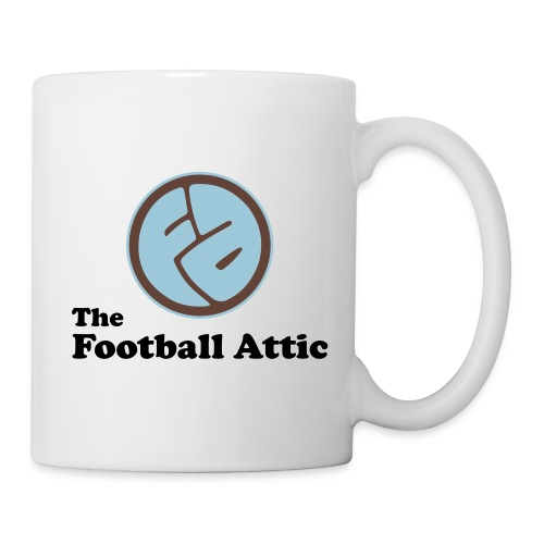 The Football Attic 2013 logo with text - Mug