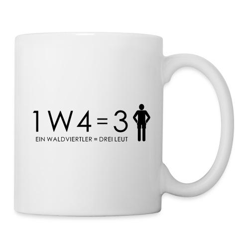 1W4 3L = Ein Waldviertler ist drei Leute - Tasse