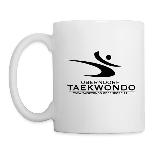 tkd logo komplett sw - Tasse