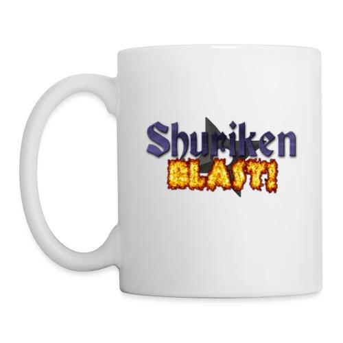 shurikenBlast T shirt design png - Mug