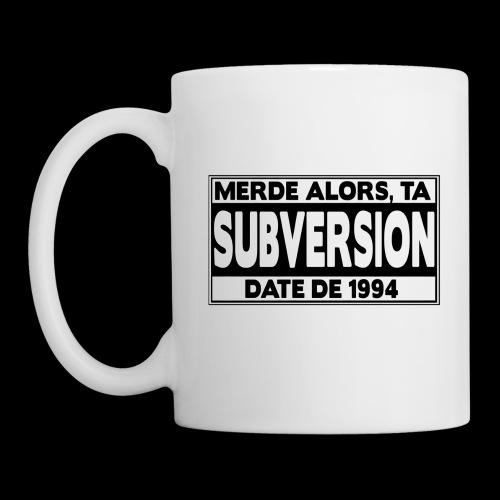 PARENTAL ADVISORY 2011 - Mug blanc