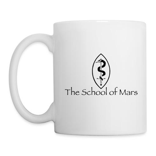 SoM Crest (Black) w/ Text - Mug