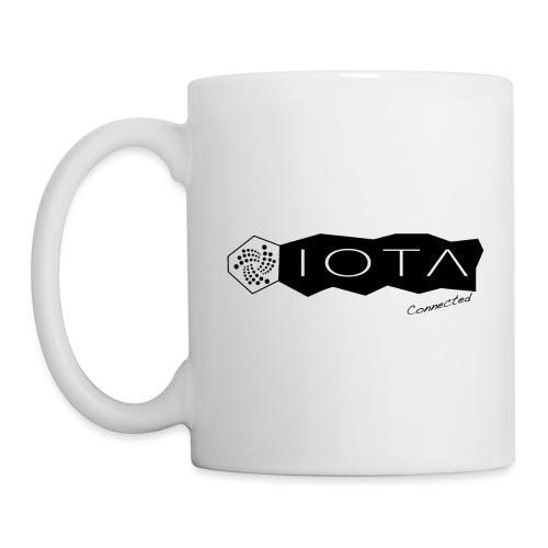 Iota connected black - Mug blanc