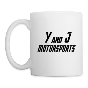 Y and J Motorsports Logo - Tasse