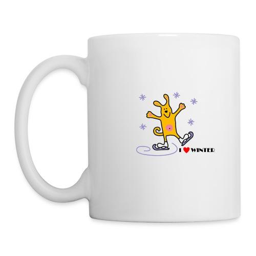 I_LOVE_WINTER - Mug blanc